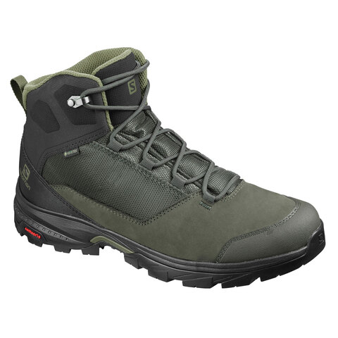 USOutDoor.com - Salomon Outward Gore-Tex Hiking Boots Peat/black/burnt Olive 10.0 149.95 USD