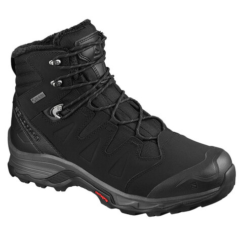 USOutDoor.com - Salomon Quest Winter GTX Boot Black/ebony/black 9.0 179.95 USD