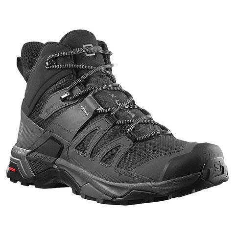 USOutDoor.com - Salomon X Ultra 4 Mid Wide Gore-Tex Hiking Boot Black Magnet 9.5ee 164.95 USD