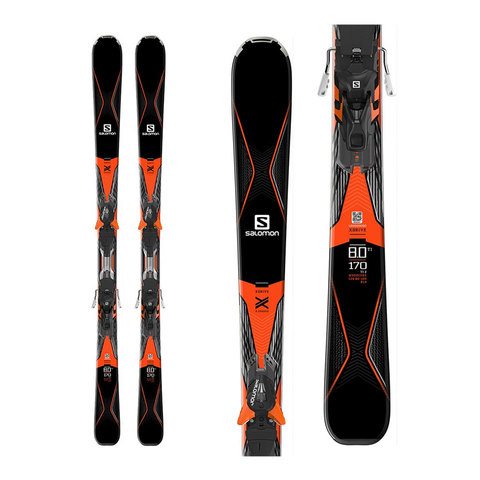 Salomon X-Drive 8.0 TI w/ XT12 Bindings 2017