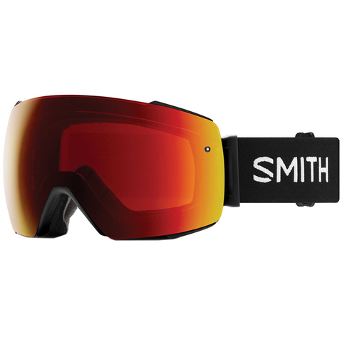Smith I/O Mag Goggles Black/cpop Red W/storm Rose