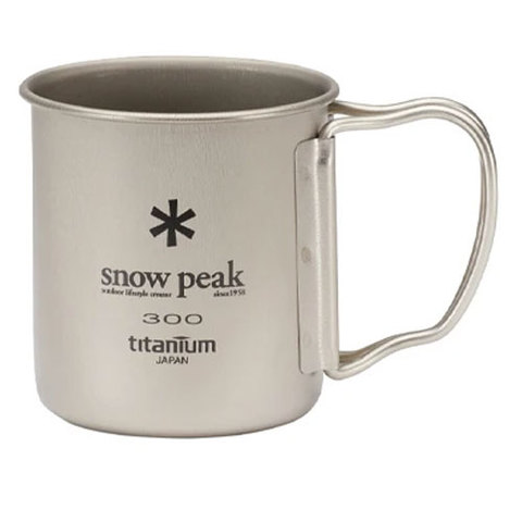 Snow Peak Ti-Single 300 Cup
