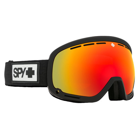 Spy Marshall Snow Goggle Matte Black/red W/yellow