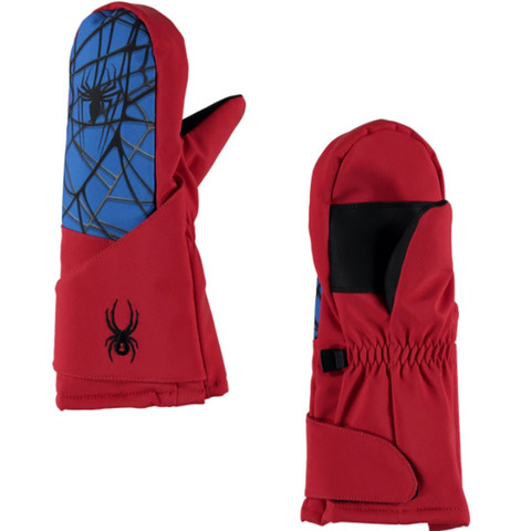 Spyder Mini Marvel Overweb Mini Mittens - Kid's