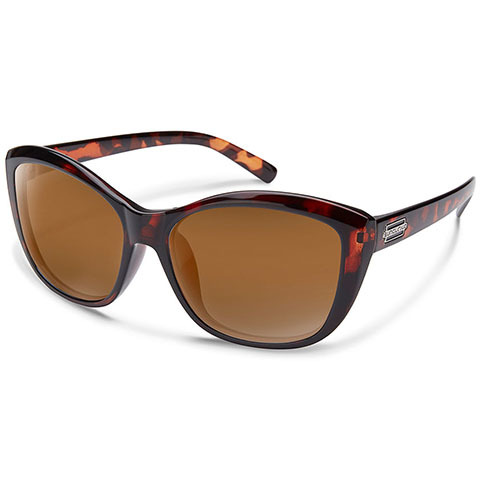 Suncloud Polarized Optics Suncloud Skyline Sunglasses Tortoise/brown