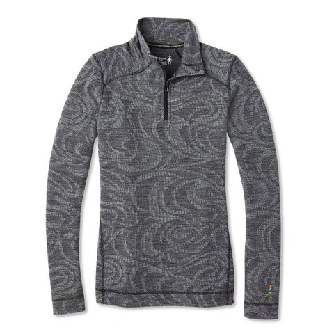 Smart Wool Smartwool Merino 250 Base Layer Pattern 1/4 Zip - Women's