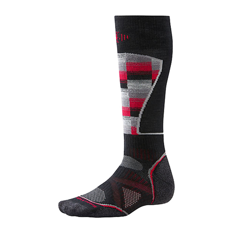 USOutDoor.com - Smartwool PHD Ski Gradutated Compression Light Socks Blk Md 39.95 USD