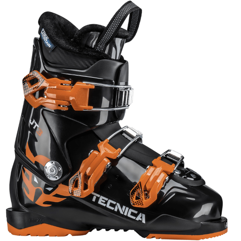 Tecnica JT 3 Ski Boot - Kid's Black 22.5