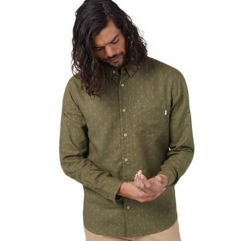 Tentree Mancos Button Up Long Sleeve