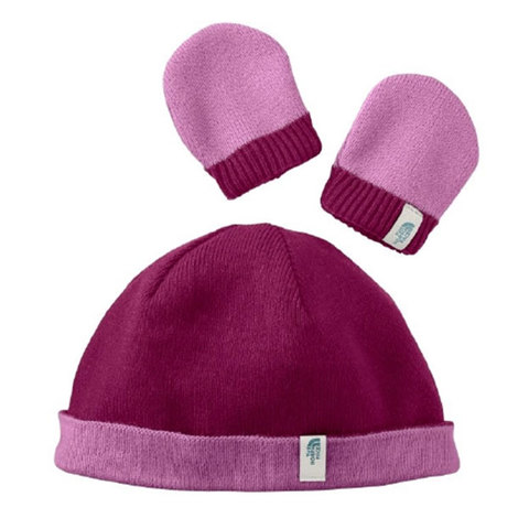 The North Face Reversible Beanie and Mitten Set - Baby's
