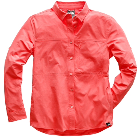 The North Face Boreaz L/S Roll-Up Shirt - Women's Spiced Coral L