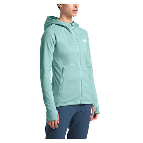 The North Face Canyonlands Hoodie - Women's Windmill Blue Heather Lg