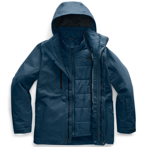 The North Face Clement Triclimate Jacket - Men's Blue Wing Teal Sm