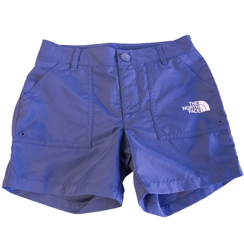 USOutDoor.com - The North Face Girl's Amphibious Shorts Blue Wing Teal Xs 39.95 USD