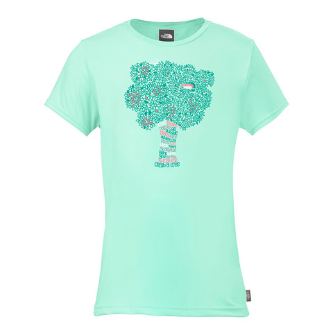 The North Face Camp TNF S/S Crew Tee - Girl's