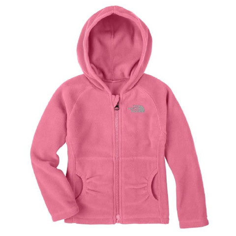 24f43a9dc The North Face Girls Glacier Full Zip Hoodie - Toddlers | The North ...