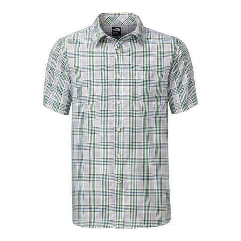 The North Face Off The Grid Plaid S/S Shirt - Men's