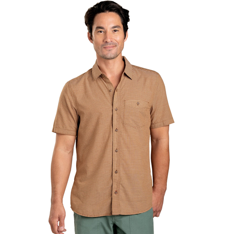 Toad & Co Airbrush Levee Short Sleeve Shirt - Men's