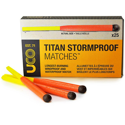 UCO Titan Stormproof Matches - 25 Pack Box