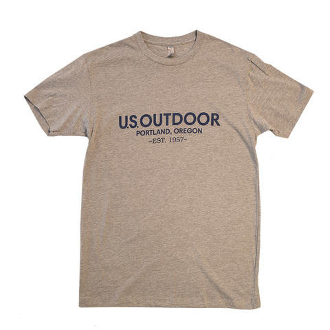 US Outdoor Text Logo S/S Tee