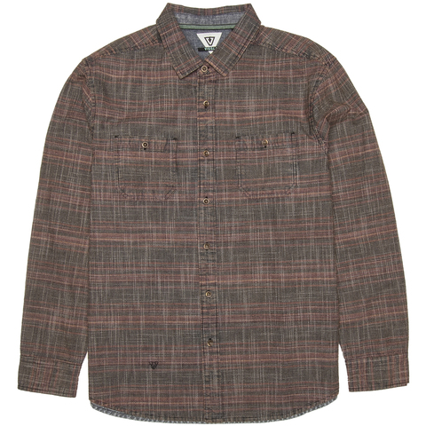 Vissla Lacerations Flannel Shirt - Men's