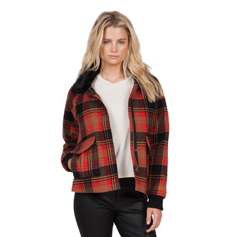 Volcom Chickity Check It Jacket - Women's
