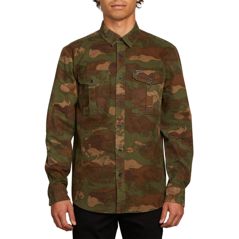 Volcom Huckster Long Sleeve Shirt - Men's