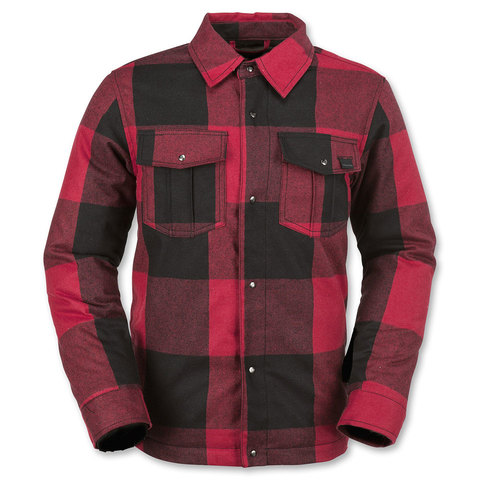 Volcom Boys Bison Insulated Flannel - Kids