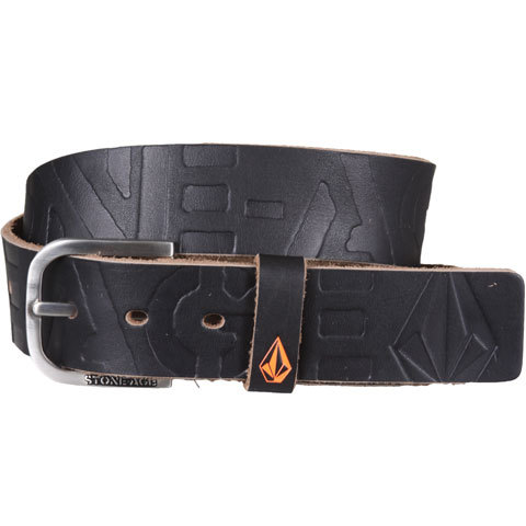 Volcom Petition Stone Age Leather Belt