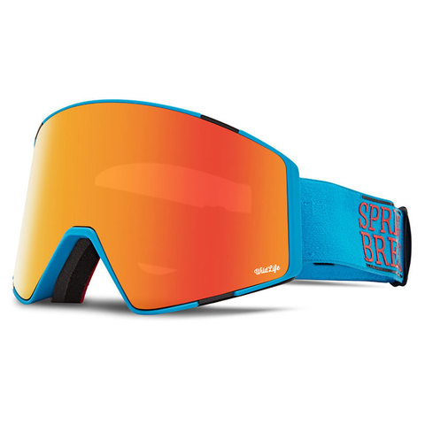 Vonzipper Von Zipper Capsule Snow Goggles Spring Break Cyan/fire W/yellow