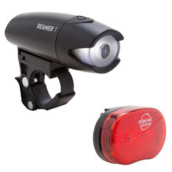 Planet Bike Beamer 1 & Binky 3 Bike Light Set
