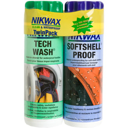 Nikwax Softshell Duo Pack - 10 oz