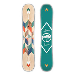 Arbor Swoon Camber Snowboard - Womens