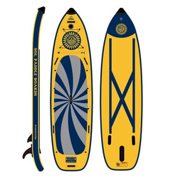 SolSumo Inflatable Paddle Board - Galaxy