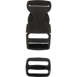 SIDE RELEASE BUCKLE WITH SLIDER
