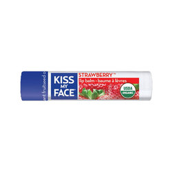 Kiss My Face Organic Strawberry Lip Balm