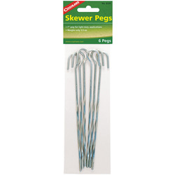 STEEL SKEWER TENT PEGS