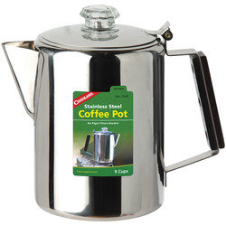 STAINLESS STEEL COFFEE POTS