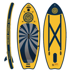 SolOcho Inflatable Paddle Board - Galaxy