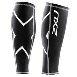 2XU Unisex No Stirrup compression Calf Guard