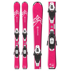 Salomon QST Lux Jr. Skis W/ C5 GW Bindings - Girl's 2020