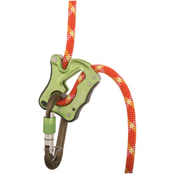 CLICK-UP BELAY DEVICE