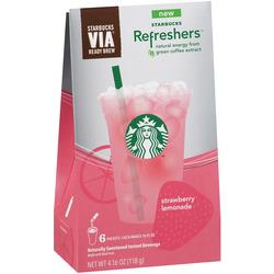 STARBUCKS VIA REFRESHERS 2018