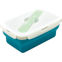 SMASHBOX COLLAPSIBLE LUNCHBOX 1 COMPARTMENT