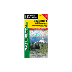 National Geographic Mount Hood Wilderness Map