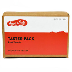 Food For The Sole - 'Taster Pack of All 7 Meals'
