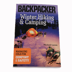 Backpacker Winter Hiking and Camping
