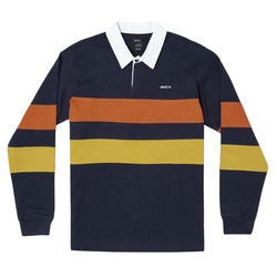 RVCA Johnsy Long Sleeve Polo Shirt