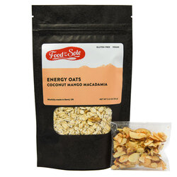 Food For The Sole - 'Coconut Mango Macadamia Energy Oats'