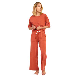 RVCA Pepper Wide Leg Fleece Pant - Women's